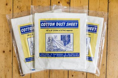 Norden Dust Covers Heavy Duty Weave Cotton Dust Sheet