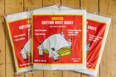 Norden Dust Covers Premium Coated Cotton Dust Sheet