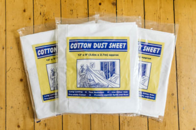 Norden Dust Covers Tight Weave Cotton Dust Sheet