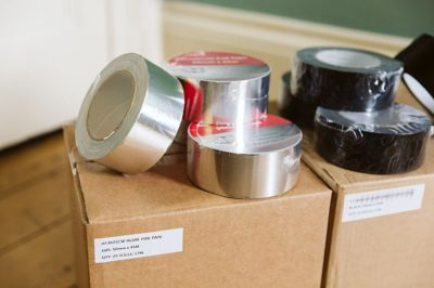 Norden Dust Covers Aluminium Foil Tape in a Variety of Sizes