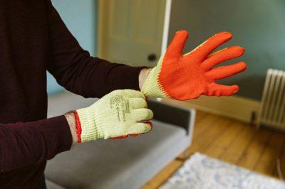 Norden Dust Covers Builders Gloves