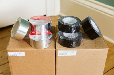 Norden Dust Covers Duct Tape in a Variety of Sizes