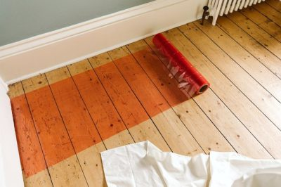 Norden Dust Covers Red Multi Purpose Hard Floors Protection Film