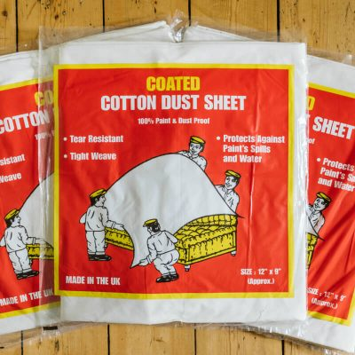 Buy Coated Cotton Dust Sheets Online From Norden Dust Covers