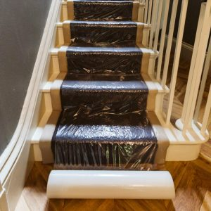 Buy Contract Clear Carpet Protection Film From Norden Dust Covers Online