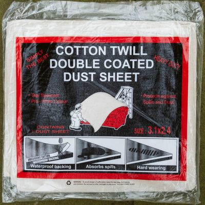 Buy Laminated Cotton Dust Sheets From Norden Dust Covers Online