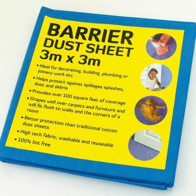 Buy Waterproof Barrier Dust Sheets From Norden Dust Covers Online