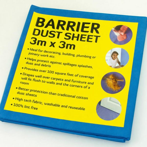 Buy Waterproof Barrier Dust Sheets From Norden Dust Covers Online