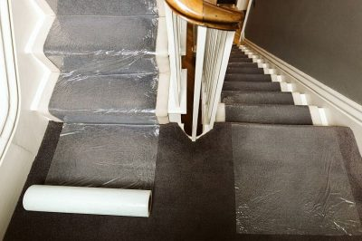 Norden Dust Covers Embossed Protection Film For Carpets