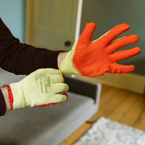 Buy Grip and Grab Builders Gloves From Norden Dust Covers Online