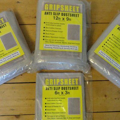 Buy Gripsheet Anti-Slip Dust Sheets From Norden Dust Covers Online